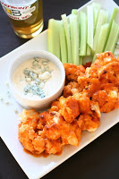 The Curvy Carrot Buffalo Style Cauliflower