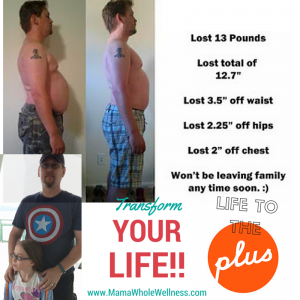 Male Transform 30 Results Seattle Juice Plus