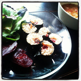 Paleo Vegeo Nori Roll I Barbara Christenesn I Ocean Avenue I The Wellness Reset