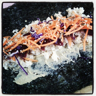 Paleo Vegeo Nori Roll I Barbara Christenesn I Ocean Avenue I The Ultimate Reset