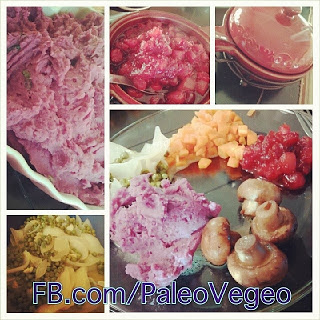 Paleo Vegeo I Barbara Christensen I What is On My Thanksgiving Platter