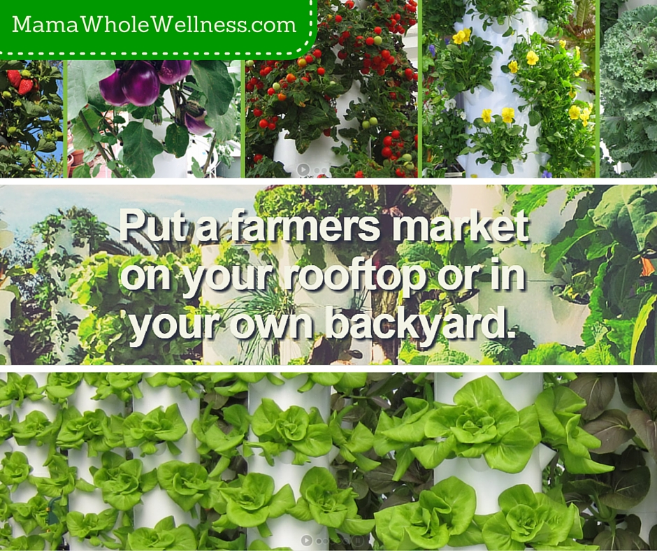 MamaWholeWellness I Farmer's Markets and Urban Gardening