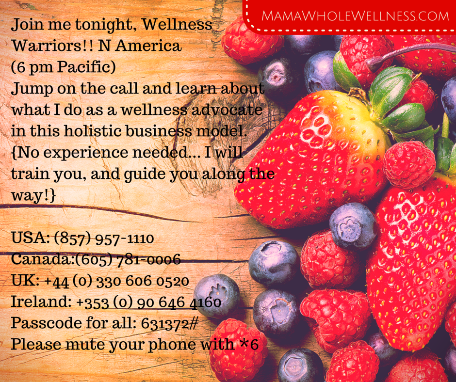 Juice Plus+ Monday Night Calls I Business Opportunity