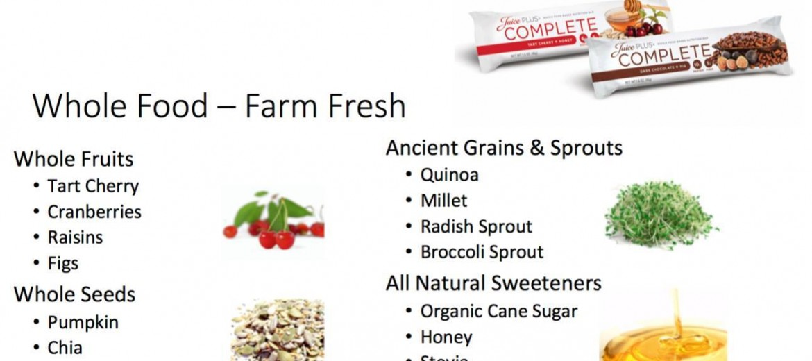 Soy Free Juice Plus Bar