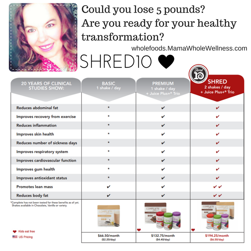 shred10 transformation program